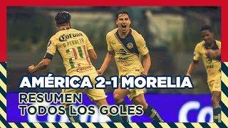 Download RESUMEN: Todos los goles Club América 2-1 Morelia | Jornada 9 | Liga MX | Apertura 2018 Video