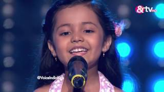 Download Ayat Shaikh - Blind Audition - Episode 1 - July 23, 2016 - The Voice India Kids Video