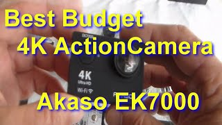 Download AKASO EK7000 4K Action Camera Unboxed, how to use with LOADS of Test clips Video