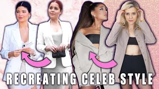 Download RECREATING $30 CELEBRITY LOOKS AT THE THRIFT STORE (ft. Shelby Church) Video