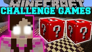 Download Minecraft: GAMINGWITHJEN CHALLENGE GAMES - Lucky Block Mod - Modded Mini-Game Video