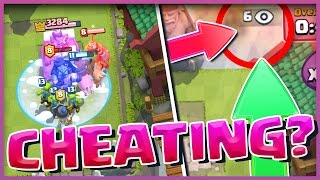 Download NO WAY!! IS HE CHEATING!? Is this a Clash Royale CHEAT? Video