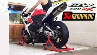 Download Honda CBR600RR 2012 Akrapovic Carbon Titanium Full System istimewa Video
