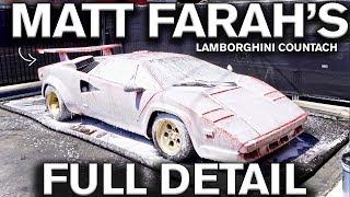 Download Full Detail Lamborghini Countach: Matt Farah Video
