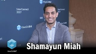 Download Shamayun Miah, IBM - IBM Interconnect 2017 - #ibminterconnect - #theCUBE Video