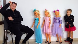 Download Ksysha Pretend Play Dress Up and MakeUp Toys Kids Disco for dolls Video
