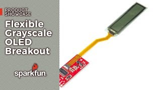 Download Product Showcase: SparkFun Flexible Grayscale OLED Breakout 1 81in Video