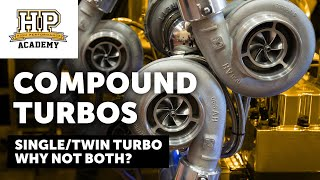 Download 3000HP, 150 PSI Of Boost   What Do YOU Know About Compound Turbo Systems   Shane T [TECH TALK] Video