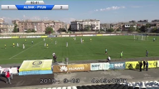 Download FC Alashkert vs FC Pyunik Video