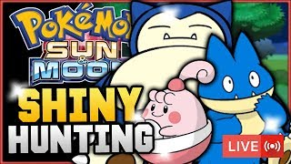 Download Pokémon Sun & Moon LIVE Shiny Hunting! Hunting For Shiny Munchlax, Snorlax & Happiny! w/ HDvee Video