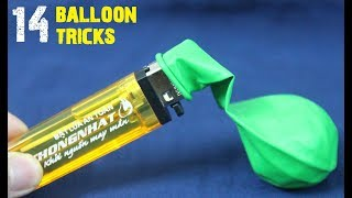 Download 14 BEST LIFE HACKS FOR BALLOONS Video