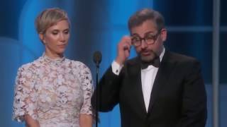 Download Steve Carell & Kristen Wiig HILARIOUS in Golden Globes 2017 Video