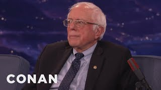 Download Senator Bernie Sanders Wishes He Could've Run Against Trump - CONAN on TBS Video