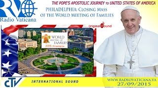 Download Pope Francis in the USA - Holy Mass concluding the World Meeting of Families Video