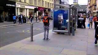 Download glasgow bus stop dancer Video