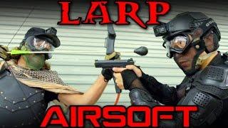 Download AIRSOFT vs LARP Video