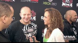 Download Fedor Emelianenko on EA MMA, Rock Band and Fighting Overeem Video