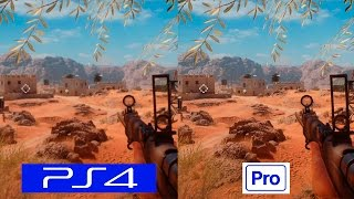 Download Battlefield 1 | PS4 VS PS4 PRO | COMPARISON | Comparativa Video