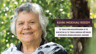 Download Kuini Moehau Reedy - Te Waka Toi Awards 2018 Video