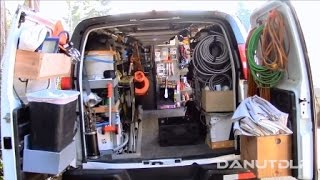 Download Construction Work Van Shelves, Layout and Organization Video