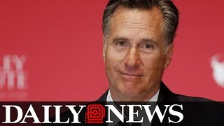 Download Mitt Romney Attacks Donald Trump in Speech Video