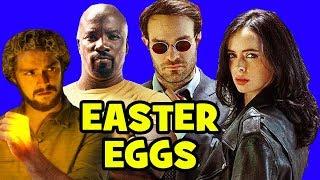 Download Marvel's DEFENDERS EASTER EGGS - Daredevil Season 3, Game of Thrones, Punisher Season 1 Video