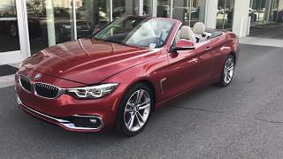 Download 2018 BMW. 430I CONVERTIBLE / WALKAROUND / CAR REVIEW / 18IN WHEELS / BMW OF OCALA Video