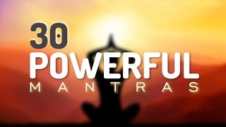 Download 30 Incredible Mantras for Health, Happiness, Healing, Positive Energy & Prosperity Video