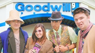 Download $25 Goodwill Challenge! Dressing Our Friends in Ridiculous Outfits! Video