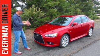 Download Watch This: 2015 Mitsubishi Lancer GT on Everyman Driver Video