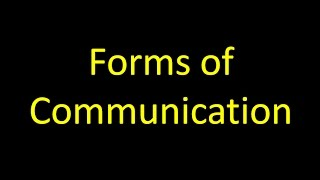 Download Forms of Communication Video