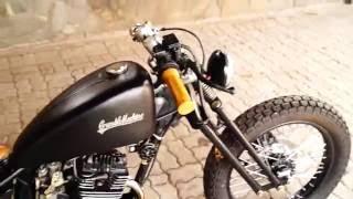 Download Bobber Custom Honda Mega Pro by Crumble Machine Motorcycles Garage Video