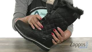 Download SKECHERS Tall Quilted Lace-Up SKU: 9106257 Video