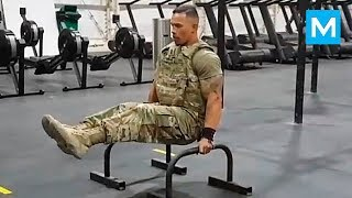 Download STRONGEST Soldier in Army Gym - Diamond Ott | Muscle Madness Video