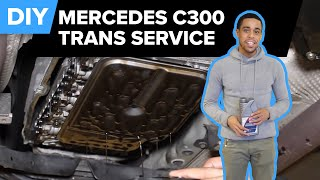 Download Mercedes Transmission Fluid Service (w/o Torque Converter) Rein/Pentosin - Important Service (722.9) Video