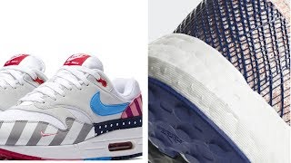 Download Air Max 1 ″Parra″ HEAT, ″WHITE″ Jordan 3, CRAZY Adidas BOOST and more SNEAKERS on Heat Check Video