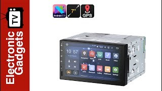 Download 7 Inch 2 DIN Android 7.1 Car Stereo / HD Car DVD Player with GPS and Android Map Video