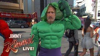 Download Jon Stewart is a Hollywood Blvd Superhero??? Video