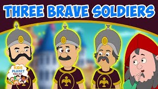 Download THREE BRAVE SOLDIERS - English Story | Stories For Kids | Moral Stories In English | Fairy Tales Video