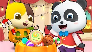 Download Trick or Treat Song | Halloween Song | Monster Truck | Kids Songs | Kids Cartoon | BabyBus Video