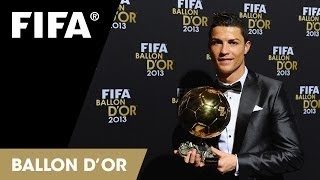 Download Cristiano Ronaldo tears up at Ballon d'Or Video
