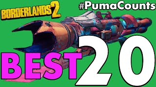 Download Top 20 Best Guns and Weapons in Borderlands 2 #PumaCounts Video