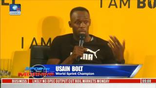Download Usain Bolt Features Documentary On His Struggles And Motivation Video
