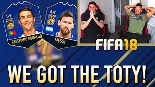Download WE GOT THE FIFA 18 TEAM OF THE YEAR! Video