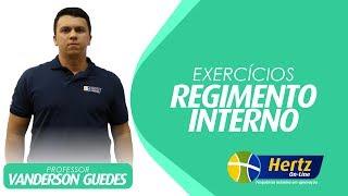 Download EXERCÍCIOS - REGIMENTO INTERNO - PROFESSOR VANDERSON GUEDES #HertzOnline #TJPA Video