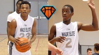 Download Zaire Wade & Dahveon Morris Make An IMPACT Playing Up An Age Group!! | Dwyane Wade's Son & Nephew Video