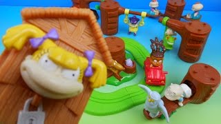 Download 2000 NICKELODEON RUGRATS SET OF 8 BURGER KING KIDS MEAL TOYS VIDEO REVIEW w DRIVE THRU TOYS Video