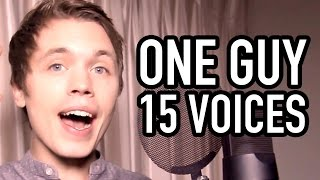 Download One Guy, 15 Voices Video