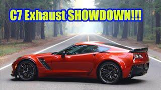 Download C7 Corvette - Corsa vs Borla vs BB vs Magnaflow vs Flowmaster Showdown! Video