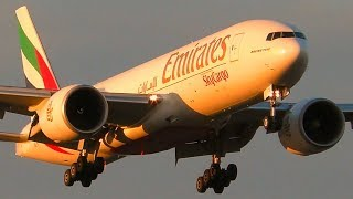 Download AWESOME Boeing 777 Landings & Takeoffs   Emirates SkyCargo   Melbourne Airport Plane Spotting Video